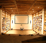 media and home theatre room